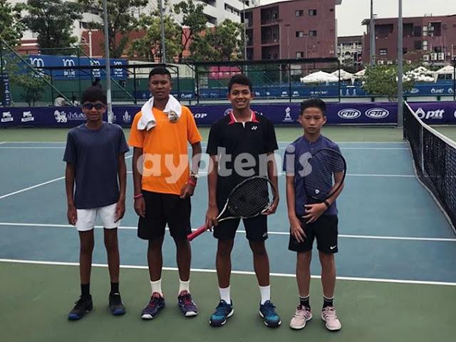 Ingvar Rusli/Faried Widya Melaju ke Semifinal ATF Thailand