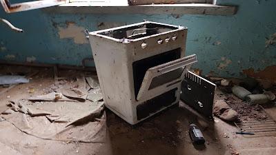 forno abbandonato