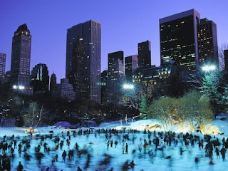 New York, central park, ice skating hurricane, gratitude, thanksgiving
