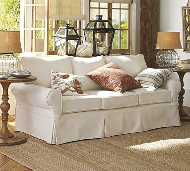 Pottery Barn Basic Sofa Decor Look Alikes