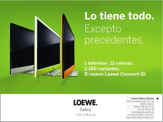 1a84bbe63 Loewe sin duda no sigue tendencias, las crea. Loewe pretende pasar de  argumentos tecnológicos que complican al usuario final y se centra en una  ...