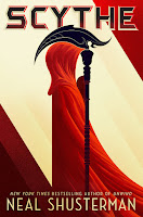 Scythe, by Neal Shusterman, book cover and review