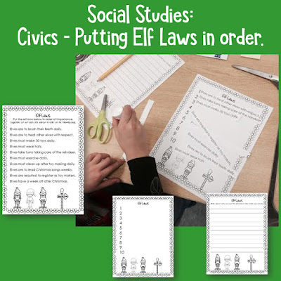 Elf Laws: A Social Studies Activity- Here's a fun activity to help get your children engaged in the process of law-making and thinking about what is really important!