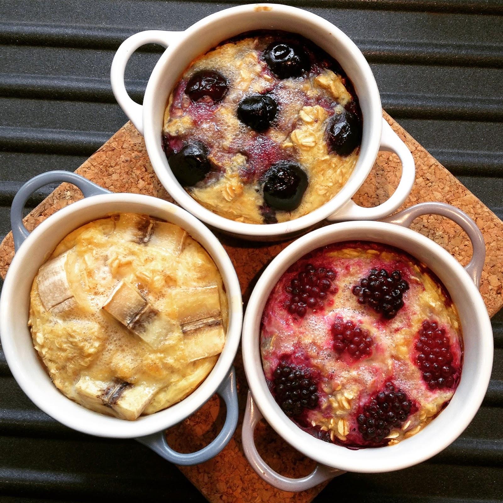 dairy free breakfast baked oats