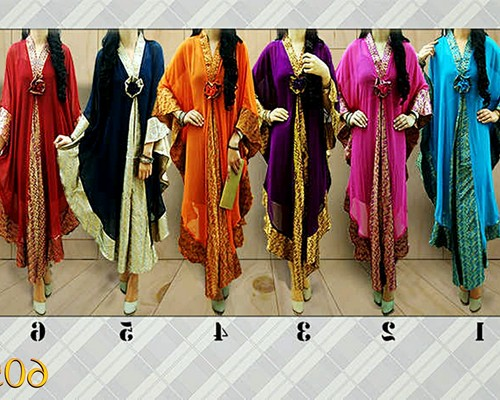 Model Baju Kebaya Modern Terbaru Berjilbab Lengan Panjang Muslim Elegan