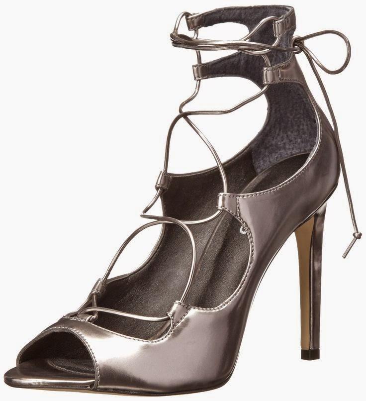 Silver Shoes No Heel