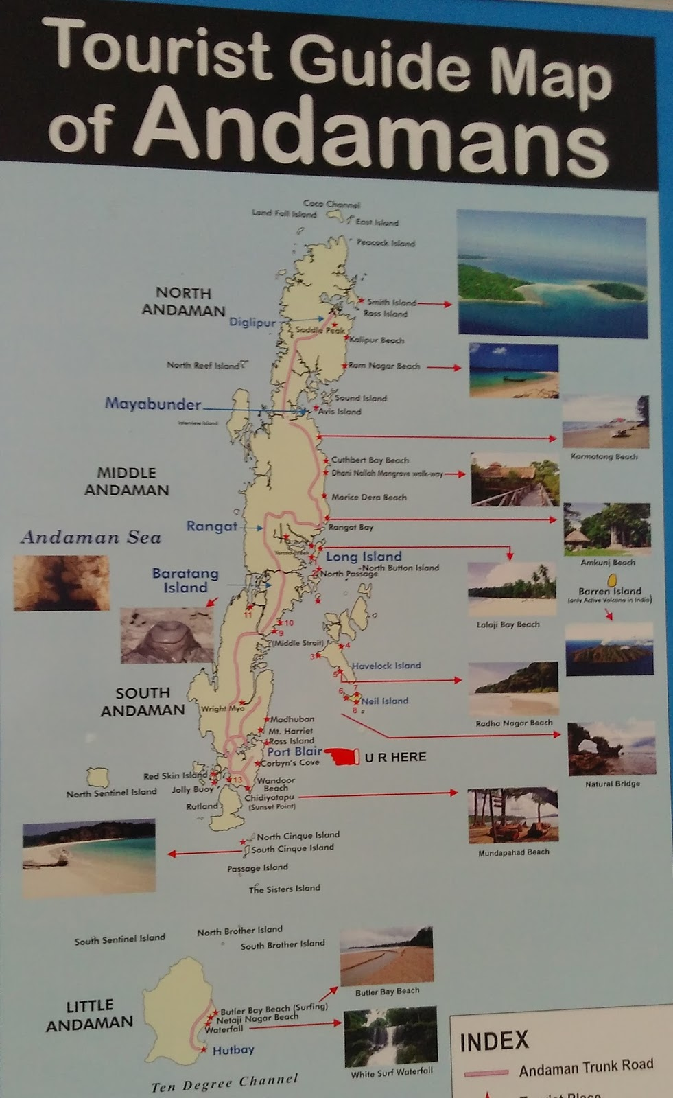 plan andaman trip on your ownlow budget and without package  - i hope to explore rest of andamans on my next visit whenever it happensyou can check places of interest on tripadvisor locate it on map and plan