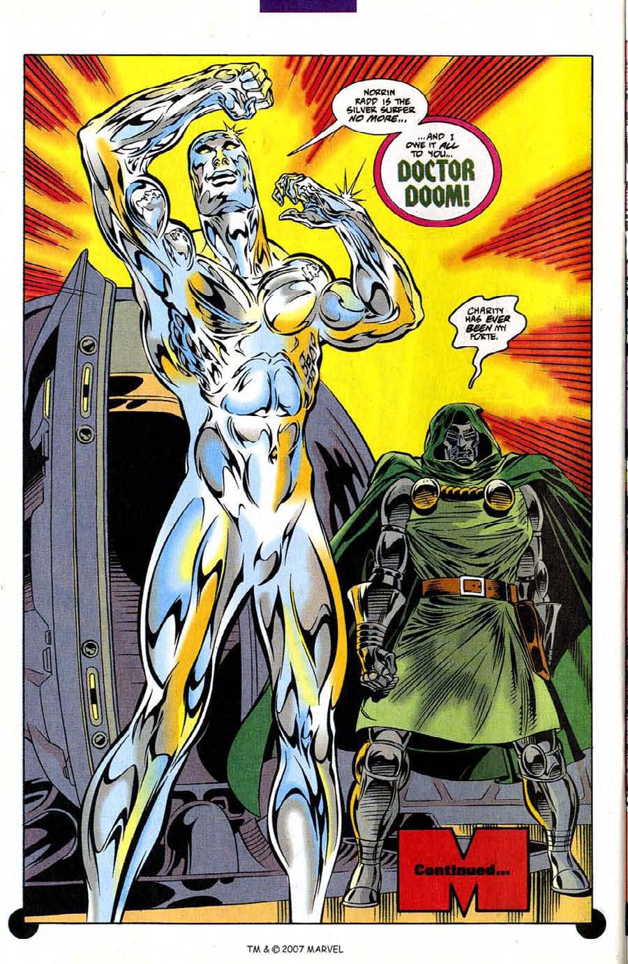 Read online Silver Surfer (1987) comic -  Issue #106 - 32