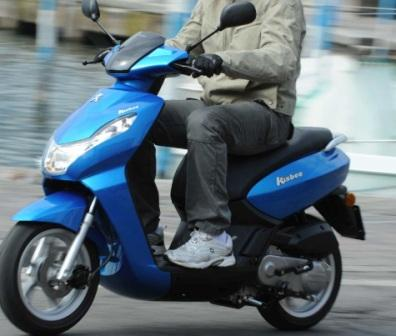Peugeot Kisbee 50cc Scooter Review Specifications And Top Speed ...