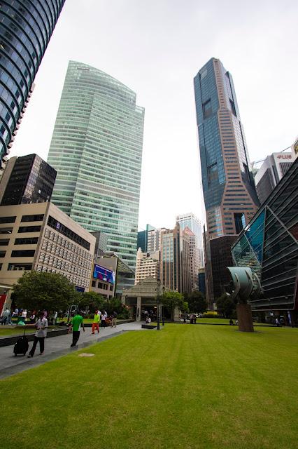 Raffles place-Singapore