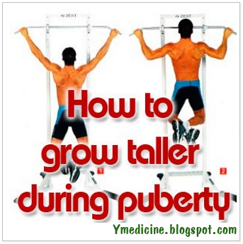 How to grow taller fast during puberty