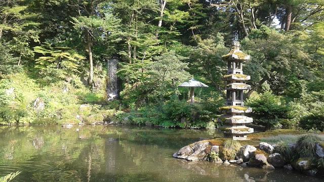 Cascada de los Jardines de Kenrouken