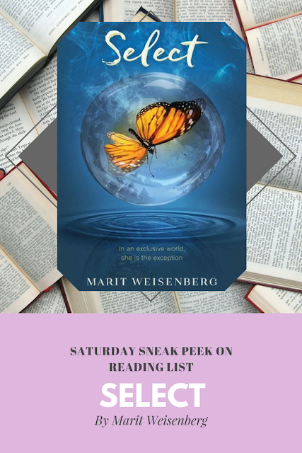 Select by Marit Weisenberg ... a Sneak Peek on Reading List