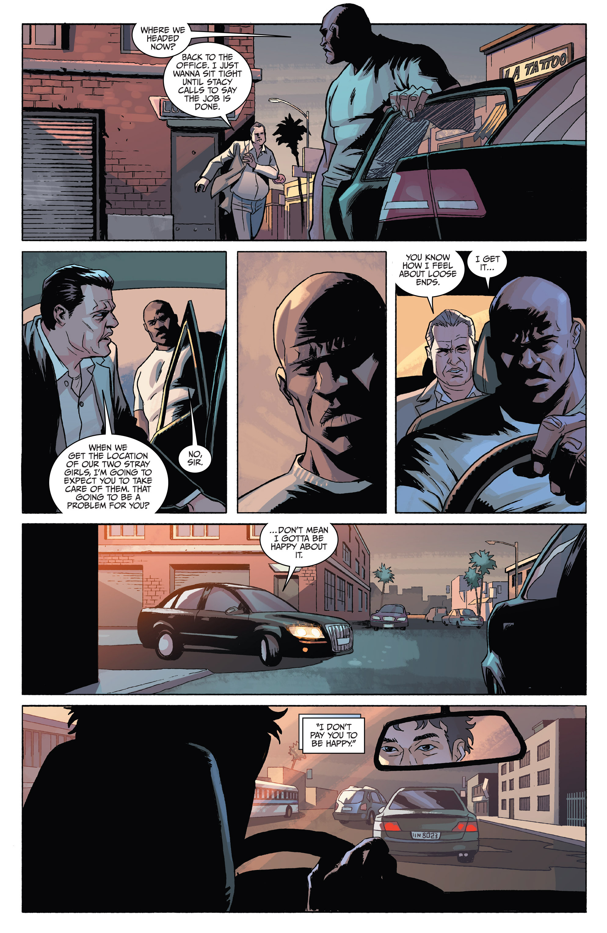 Read online Sons of Anarchy comic -  Issue #4 - 21