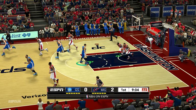 NBA 2K13 New ESPN Scoreboard with 3D Logos Mod - NBA2K.ORG