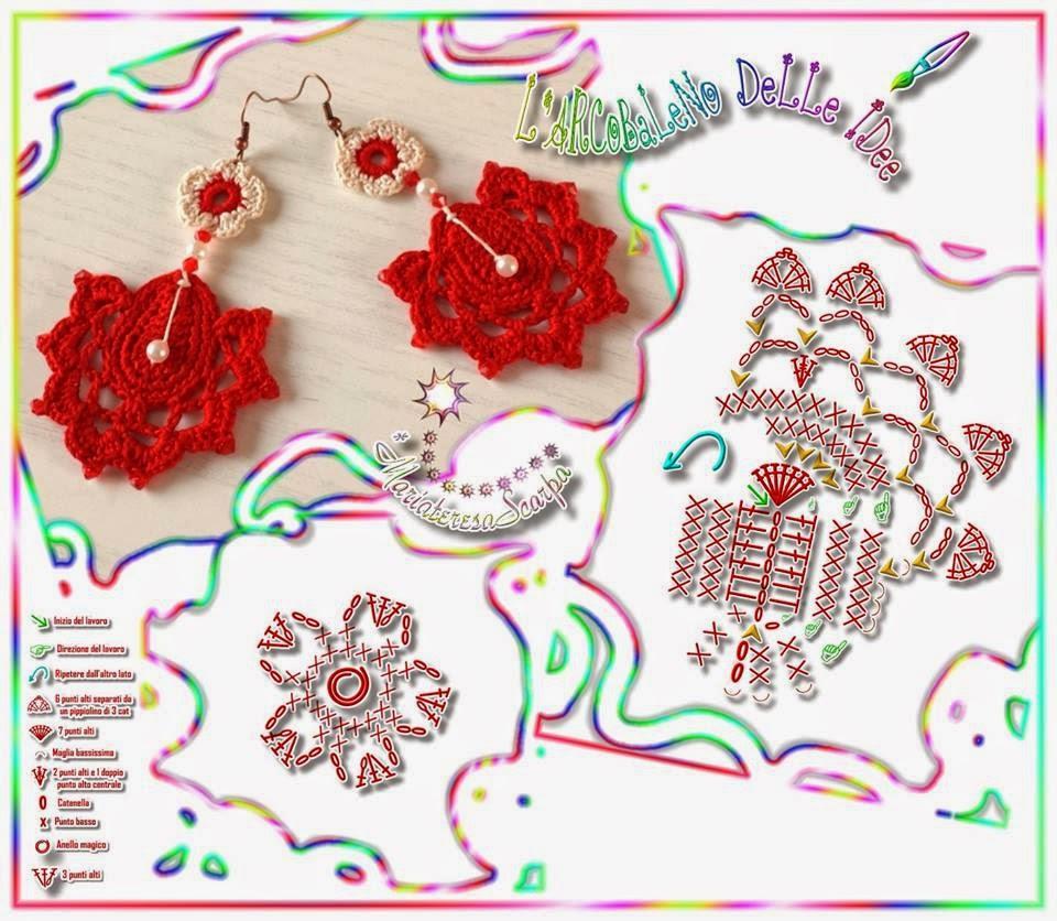 melissa melina crochet bijoux au crochet. Black Bedroom Furniture Sets. Home Design Ideas