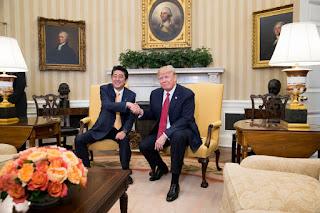 Donald Trump, Shinzō Abe