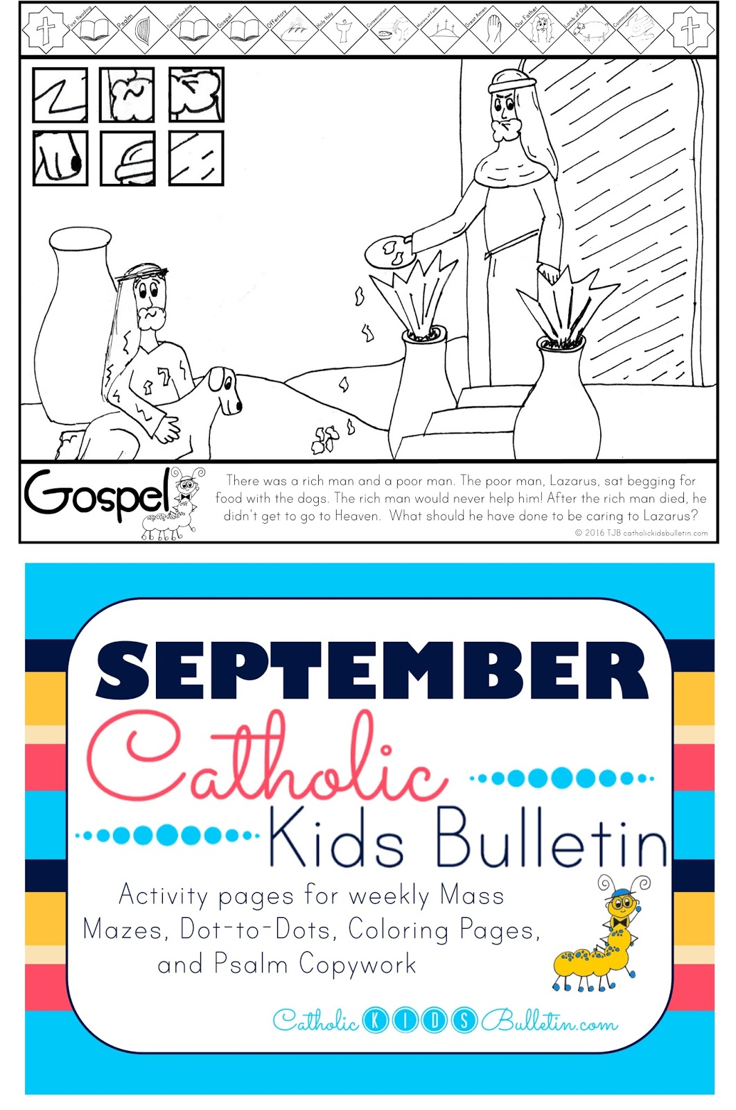 catholic kids september 2016 catholic kids bulletins
