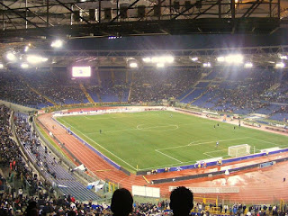 The Stadio Olimpico in Rome has hosted numerous major football matches