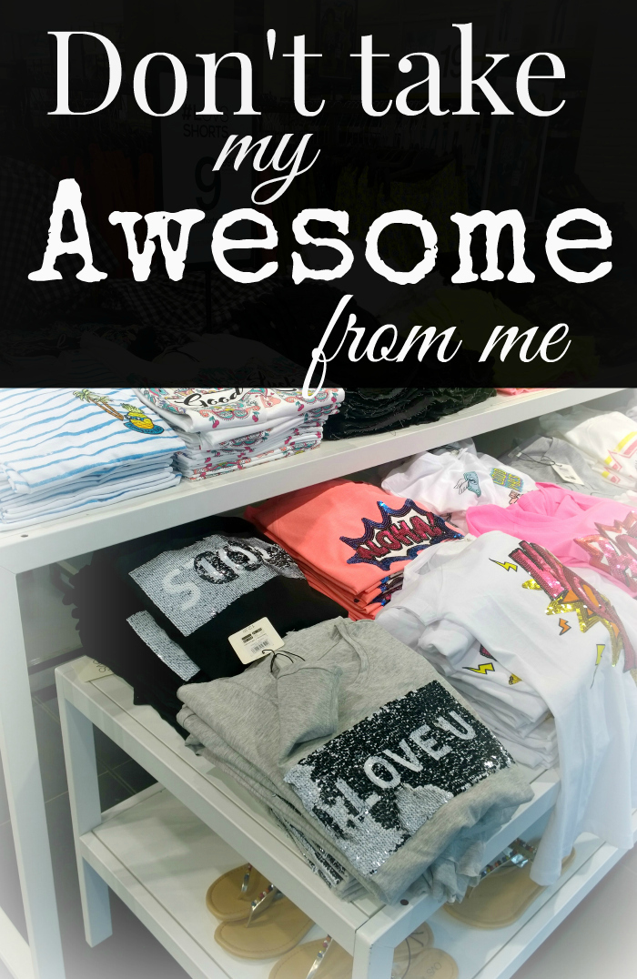 Do not take my awesome sweater words from me - A list of words that cannot replace awesome    Funky Jungle - mindful fashion and quirky personal style blog
