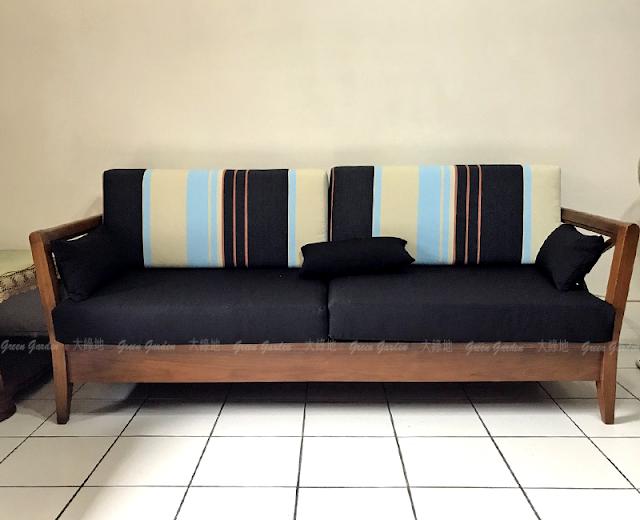 思可莉柚木沙發3