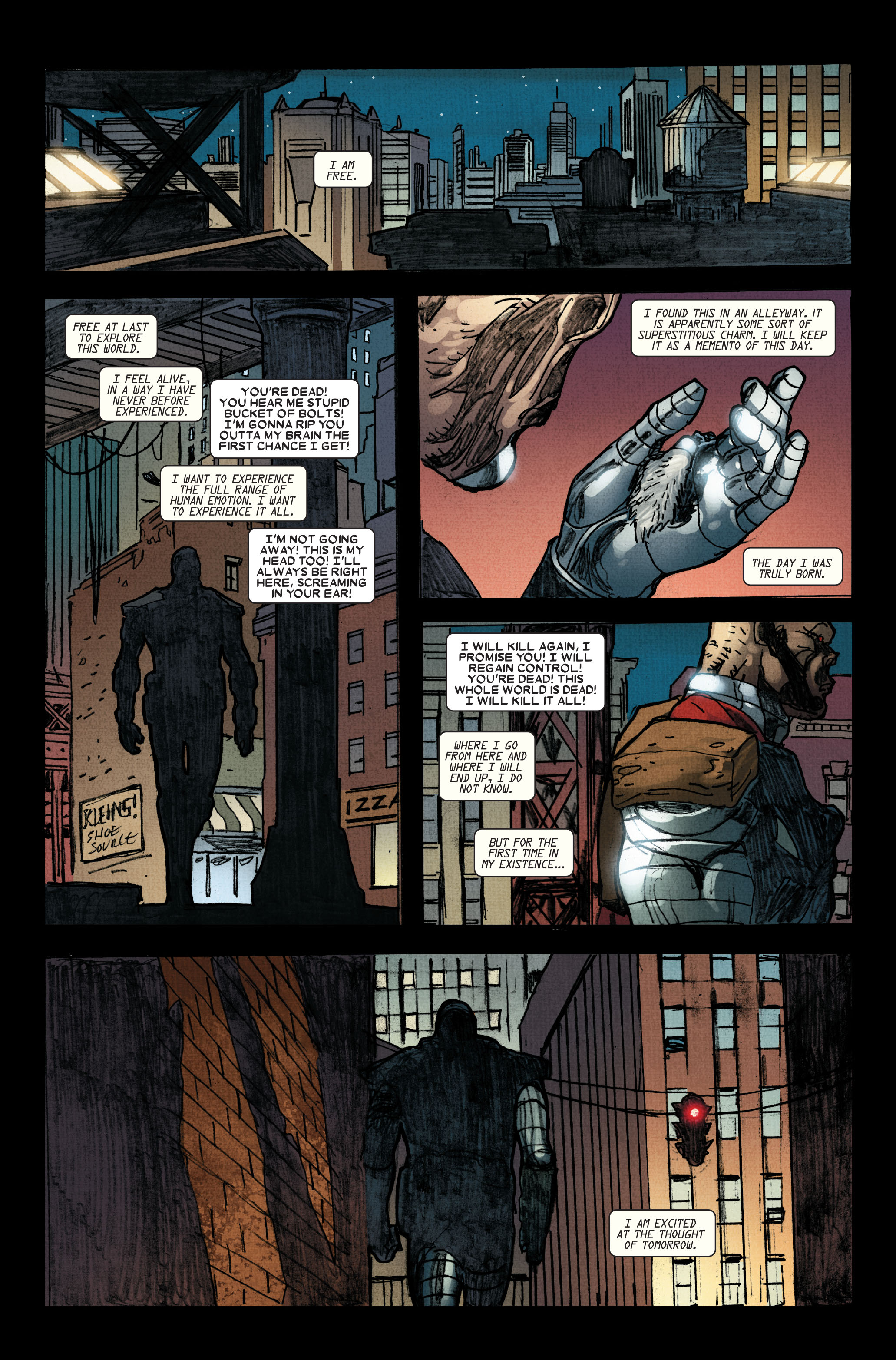 Read online Wolverine: Weapon X comic -  Issue #15 - 22
