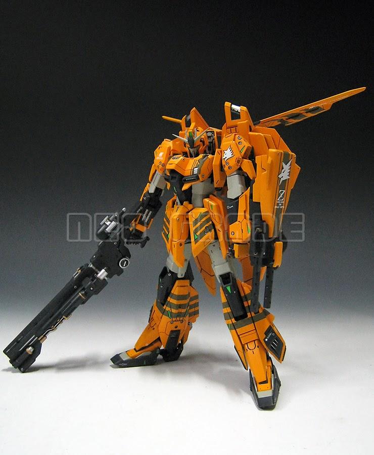 Painted Build: Neo Grade 1/100 Gray Wolf's Zeta Gundam