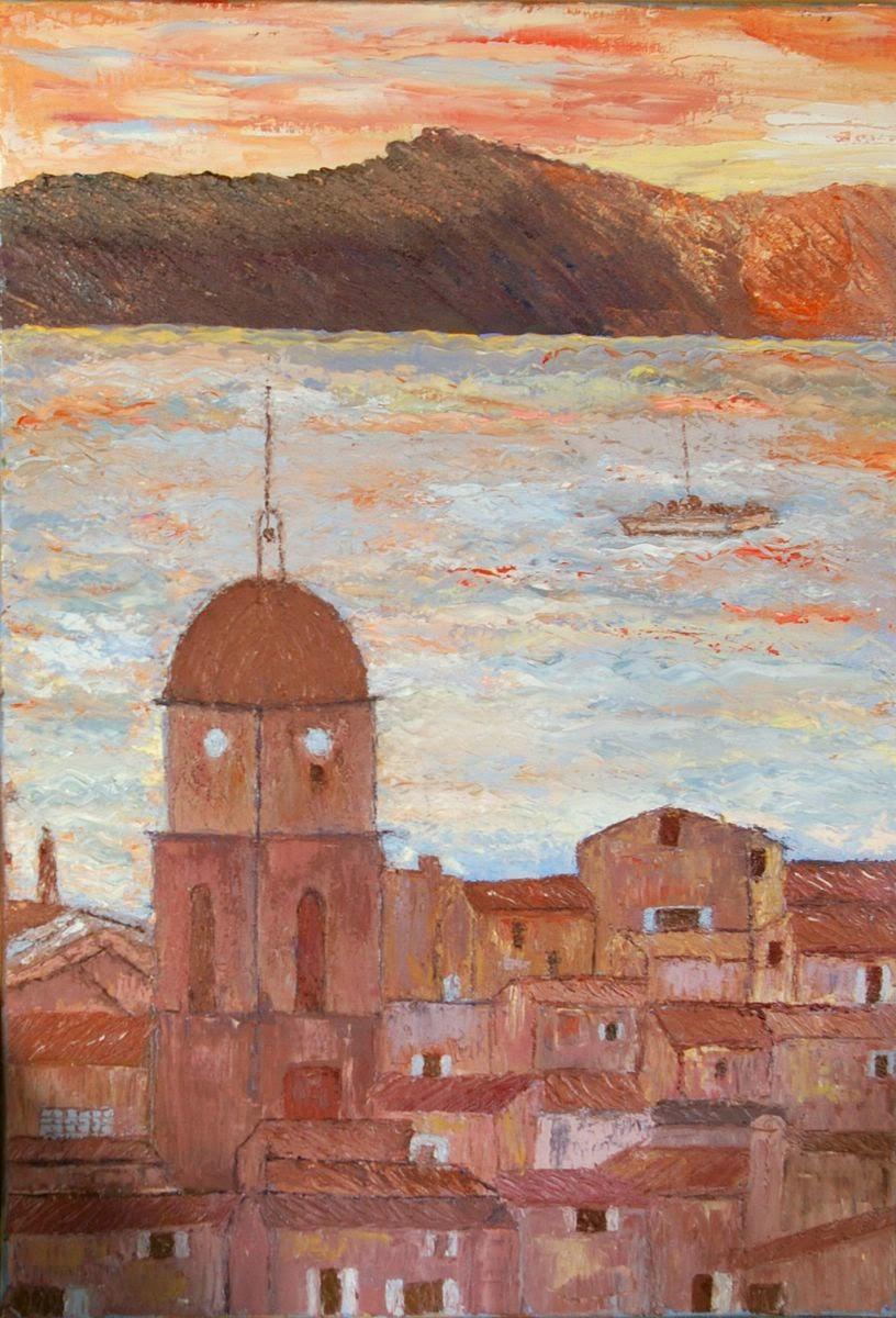 Artiste Peintre St Tropez maryse dubreuil-tary artiste peintre: galerie