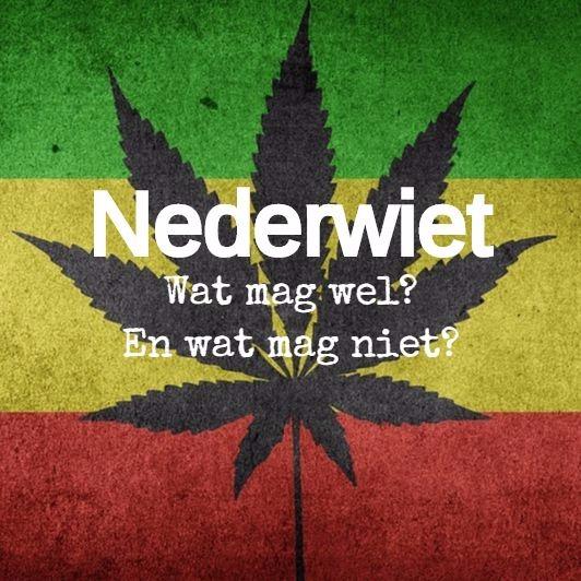 nederwiet cannabis regels telen moestuin