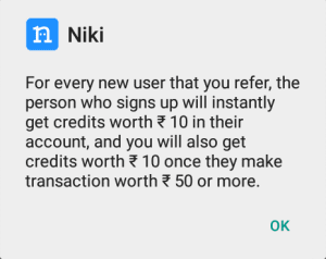 nikki refer and earn