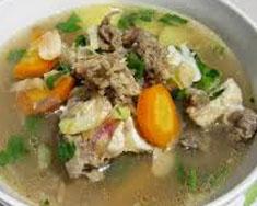 Resep masakan indonesia sup daging sapi spesial (istimewa) praktis mudah sedap, gurih, enak nikmat lezat
