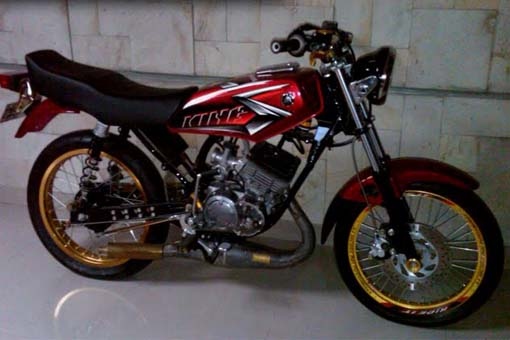 King Rx Yamaha Modifikasi Indonesia
