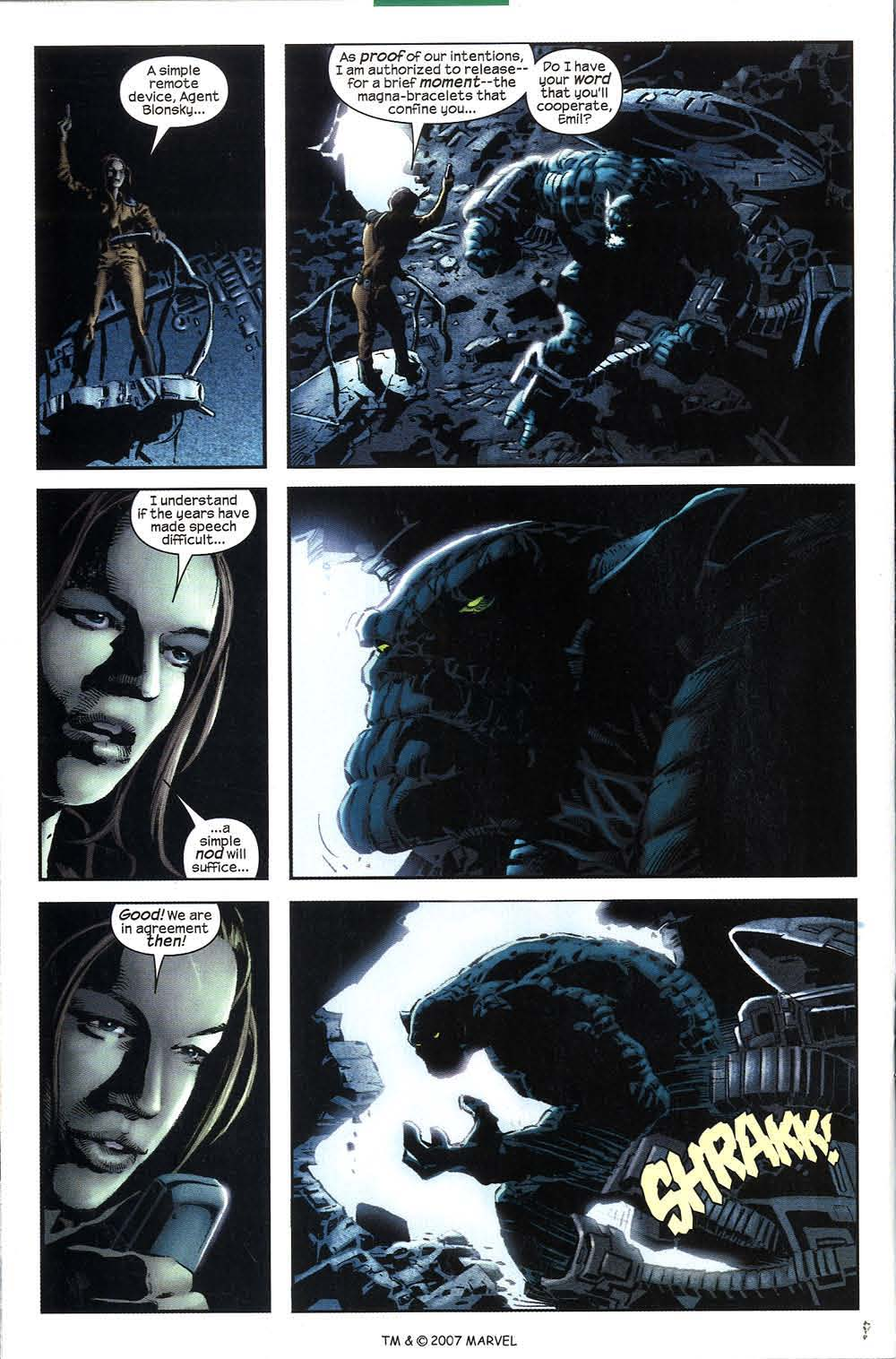 Read online The Incredible Hulk (2000) comic -  Issue #51 - 22