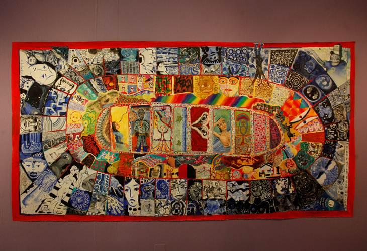 Artes tercero de secundaria for Arte colectivo mural