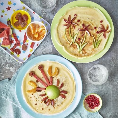 pancake plate art