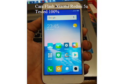 Cara Flash Xiaomi Redmi 5a dengan Mi Flash [Tested] - ROM dan Firmware Terbaru