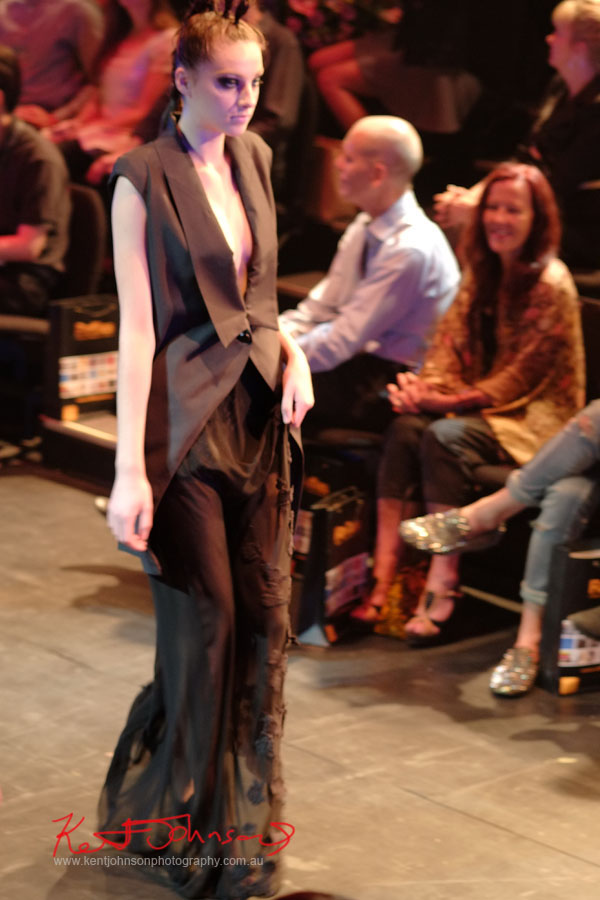 Masculine Dressing, Raffles College 2012 Graduate Fashion Show Carriageworks, Everleigh Sydney