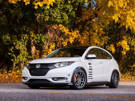 Modifikasi Pelek Ceper Honda HR V