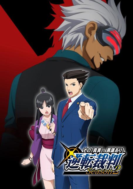Ace Attorney 2 anime