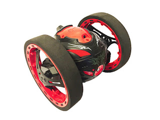Jumping Racer Drone with Built-In Wi-Fi Camera