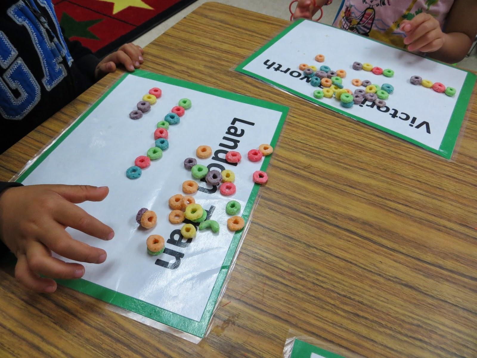 Preschool For Rookies Rainbows Fruit Loops Patterns