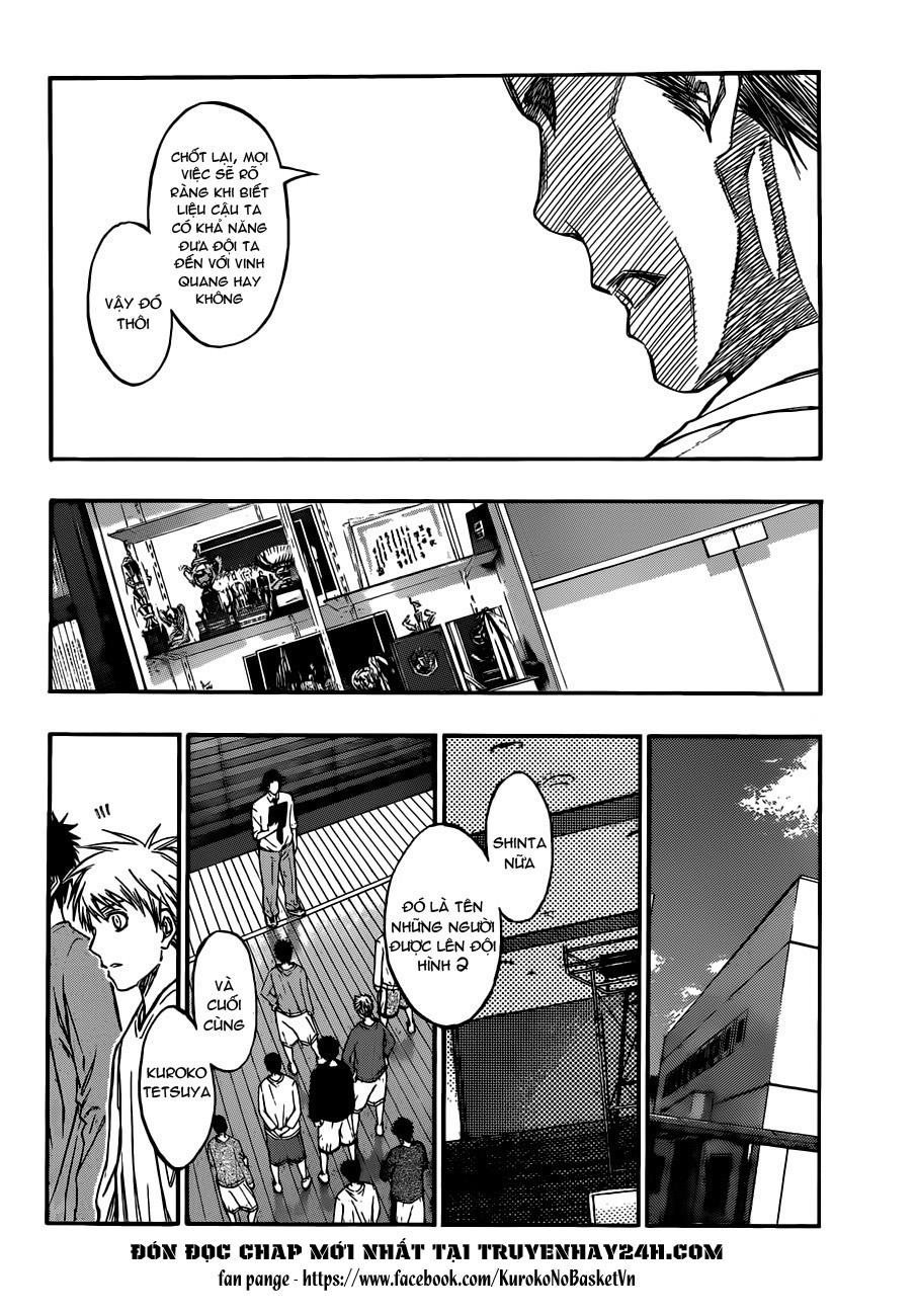 Kuroko No Basket chap 207 trang 8