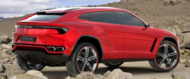 2019 Lamborghini Urus Rear Concepts