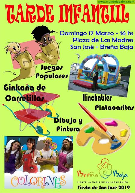 Fiesta San José 2019: Tarde infantil y Colorines