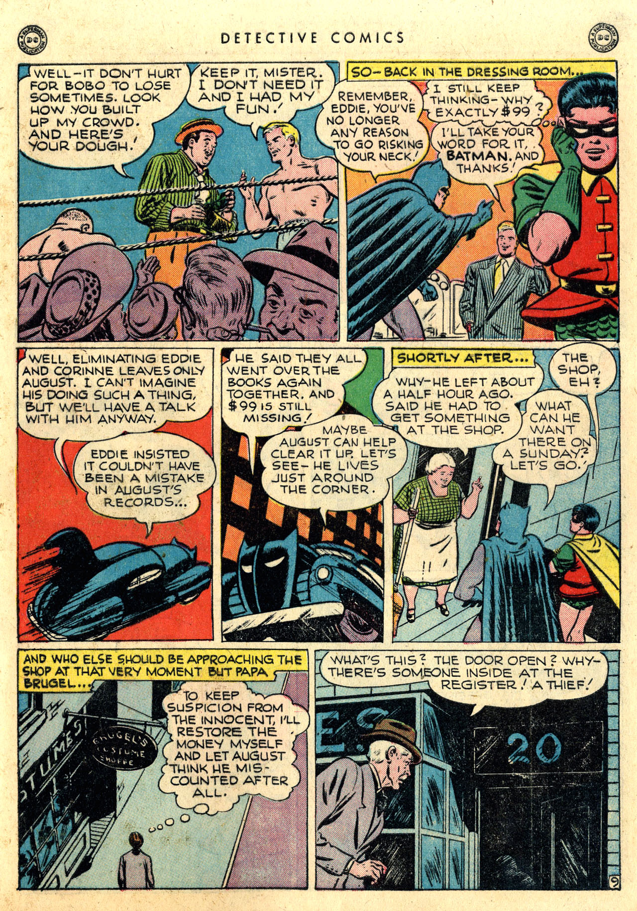 Read online Detective Comics (1937) comic -  Issue #112 - 11