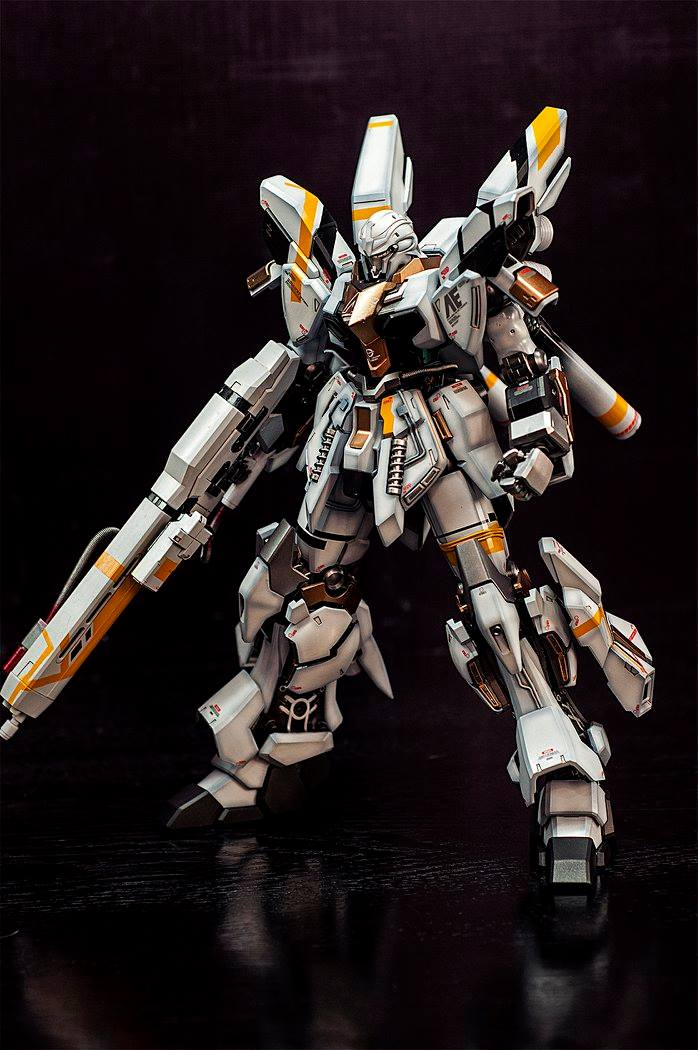 Custom Build: MG 1/100 Sinanju Stein [Assimov] - Gundam ...
