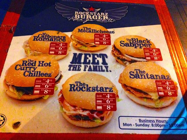 Hasil carian imej untuk menu rockstarz burger