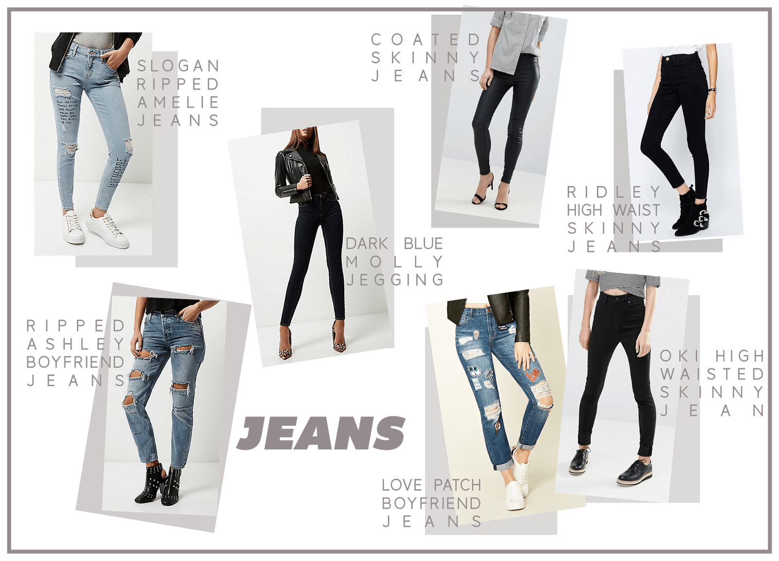 denim wishlist january uk fashion blogger