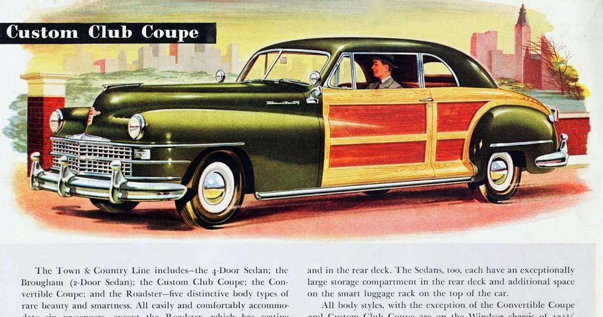 transpress nz 1946 chrysler custom club coupe. Cars Review. Best American Auto & Cars Review
