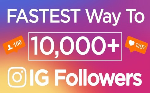 Fastest Way to get 10000 Instagram Followers